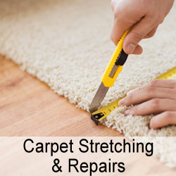 Carpet Stretching & Repairs